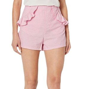 The Fifth Label Parcel Striped Ruffle Shorts